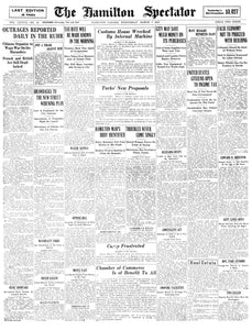 Front Page March 7, 1923