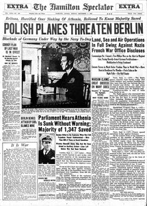 September 4, 1939 - Home Edition