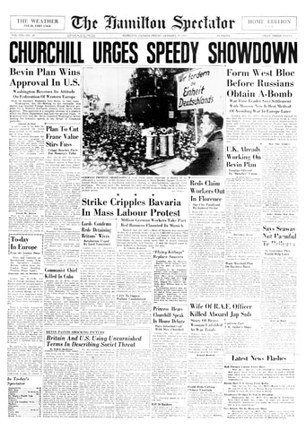 Front Page January 23 1948