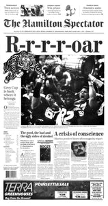 Ti Cats win Grey Cup 1999