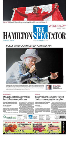 August 17 2016 - Tragically Hip in Hamilton