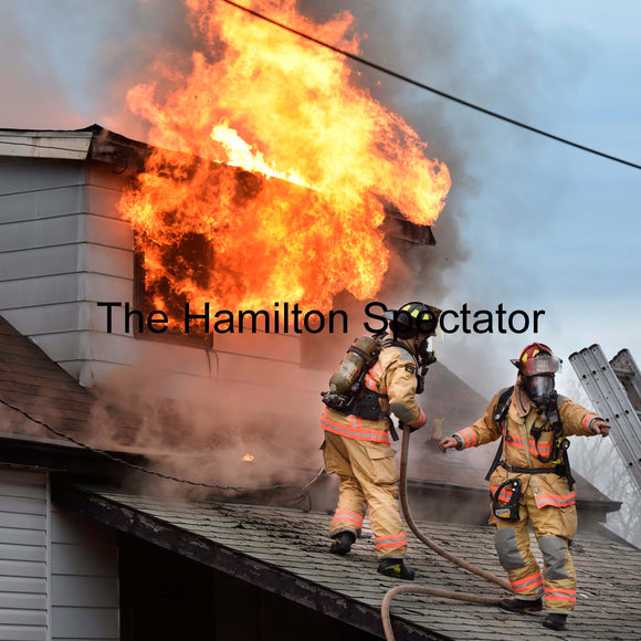2017 February 26 - Photo of 2 Firefighters