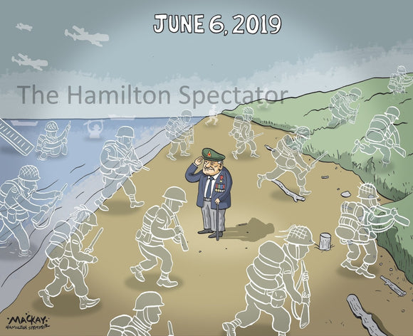 2019 June 6 - Editorial Cartoon