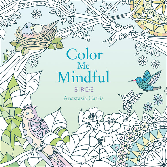 Colour Me Mindful:  Birds
