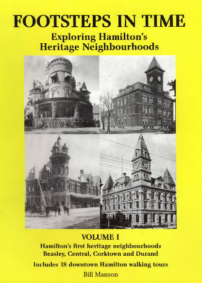 Corktown, Beasley, Durand, Hamilton historic, walking tours, neighbourhoods