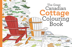 The Great Canadian Cottage Colouring Book