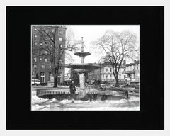 Matted: Gore Park Fountain, 1959