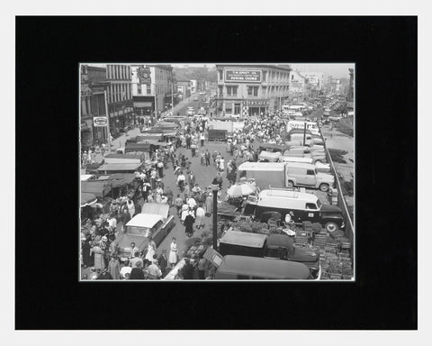Matted: Market Square, 1961
