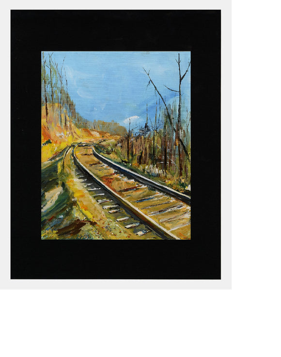 Matted: Railway by Jim Poling