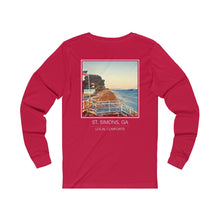 Load image into Gallery viewer, St. Simons, Georgia Long Sleeve T-Shirt
