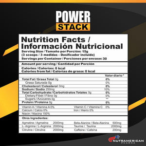 POWER STACK 1 LB