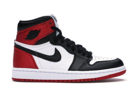 Jordan 1 Retro High Satin Black Toe