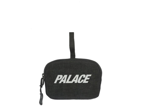 Palace Flip Stash Wallet Black