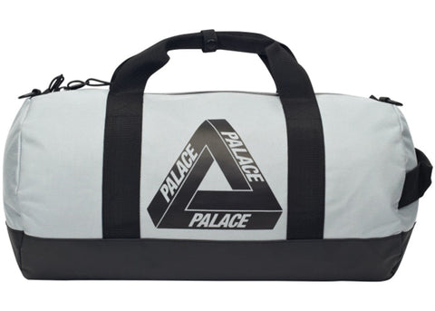 Palace Barrel Bag Silver
