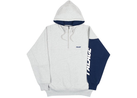 Palace Metric Hood Grey Marl/Navy