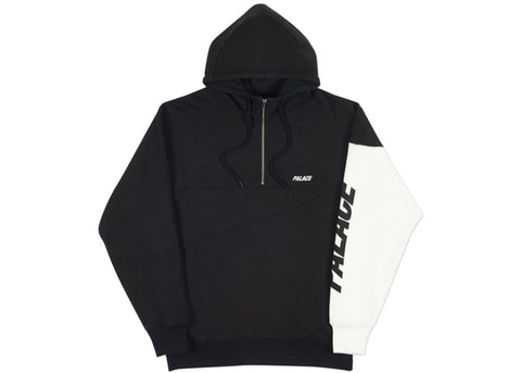 Palace Metric Hood Black/White