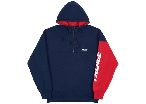 Palace Metric Hood Navy/Red