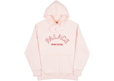 Palace Couture Hood Pale Peach