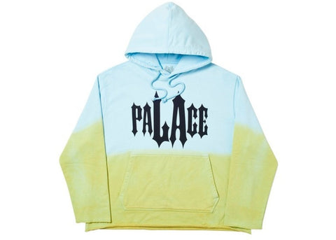 Palace LA Dye Hood Blue/Green