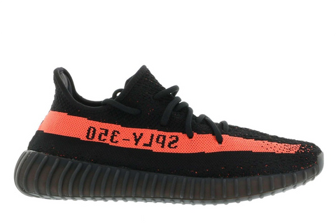 Yeezy Boost 350v2 Core Black Red