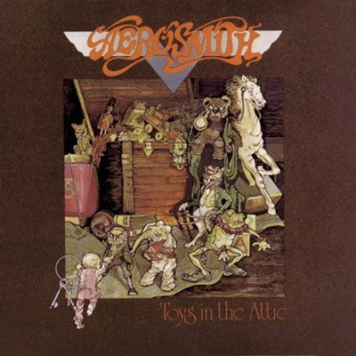 Aerosmith 'Toys In The Attic' Used CD