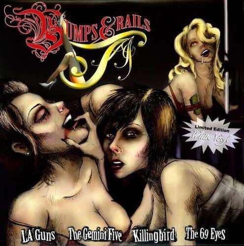 Bumps and Rails 10' Vinyl Feat. Killingbird, LA Guns, 69 Eyes, Gemini Five