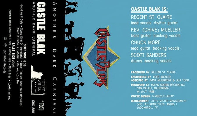 Castle Blak 'Another Dark Carnival' Cassette