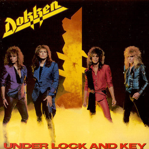 Dokken 'Under Lock And Key' LP Used Vinyl