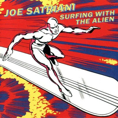 Joe Satriani 'Surfing With The Alien' Used CD