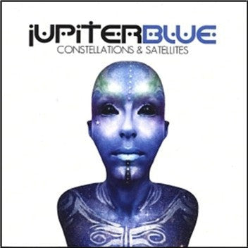 Jupiter Blue 'Constellations & Satellites' - Enhanced CD