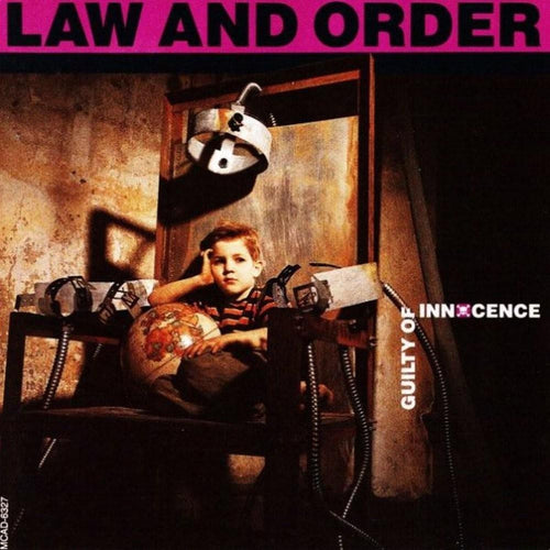Law And Order 'Guilty Of Innocence' LP Used Vinyl