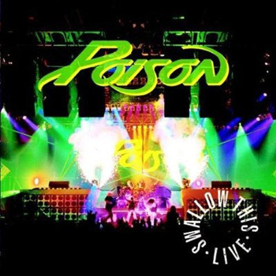Poison 'Swallow This Live' Used CD