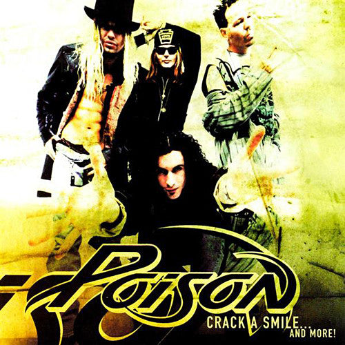 Poison 'Crack A Smile....And More! Used CD