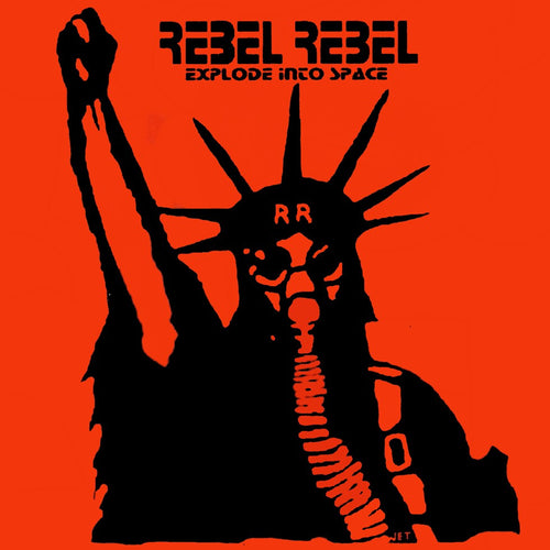 Rebel Rebel 'Explode Into Space' - Jacket Packaging