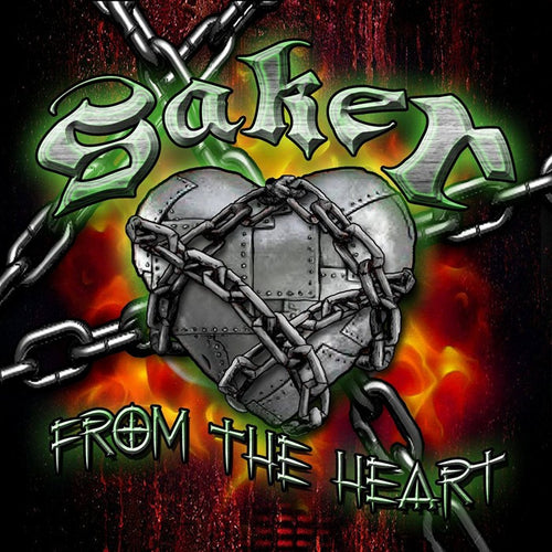Saker 'From The Heart' - Digipak