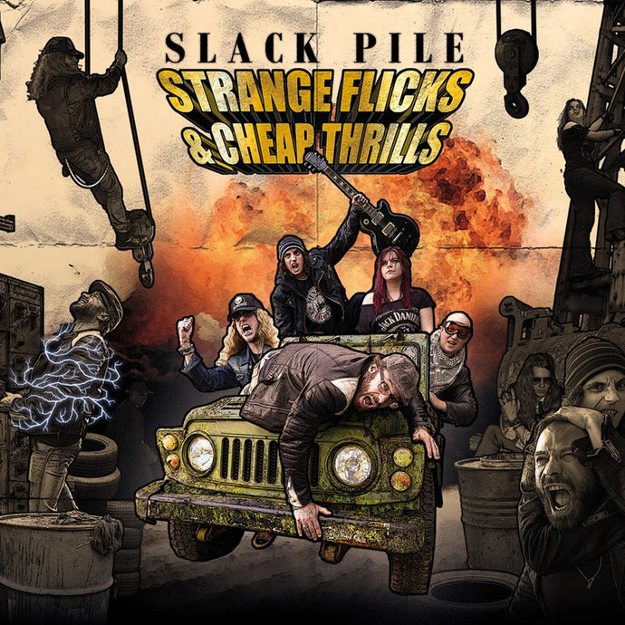Slack Pile 'Strange Flicks & Cheap Thrills' - Digipak
