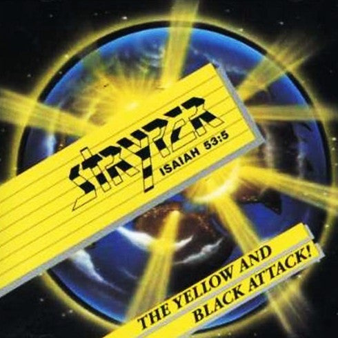 Stryper 'The Yellow And Black Attack' LP Used Vinyl