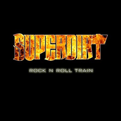Superdirt 'Rock N Roll Train' - Jacket Packaging