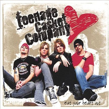 Teenage Casket Company 'Eat Your Heart Out' - Digipak