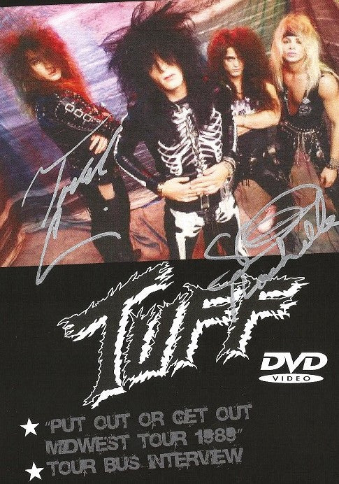 Tuff 'Live at Fat Jacks 1989' DVD Autographed by Stevie and Todd