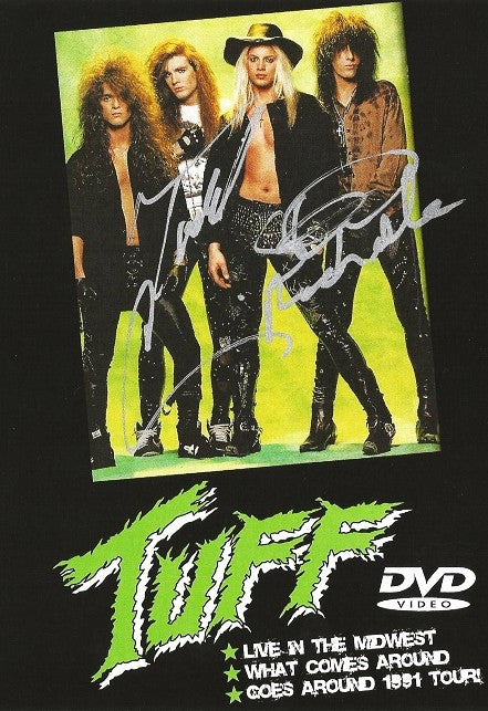 Tuff 'Live at Metal's Edge St. Louis, MO 1991' DVD Autographed by Stevie and Todd