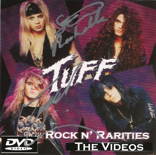 Tuff 'Rock N' Rarities' The Videos DVD Autographed by Stevie and Todd