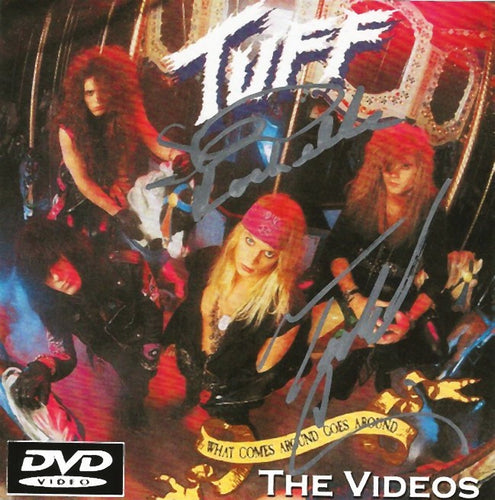 Tuff 'What Comes Around Goes Around' The Videos DVD Autographed by Stevie and Todd