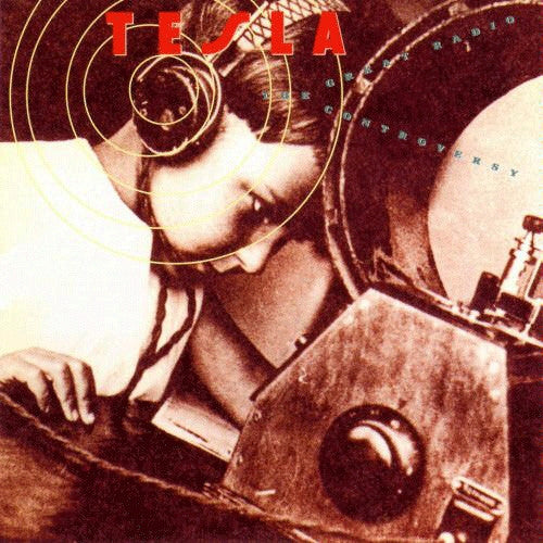 Tesla 'The Great Radio Controversy' Used CD