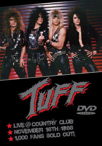 Tuff 'Live at Country Club 1988' DVD