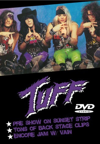 Tuff 'Live at The Roxy Feb. 1990' DVD