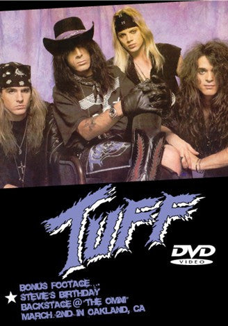 Tuff 'Live at Cactus Club 1991' DVD