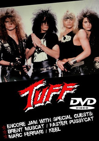 Tuff 'Live at The Troubadour 1989' DVD