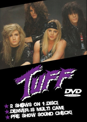 Tuff 'Live at Paramount Theatre and Ranch Bowl 1991' DVD