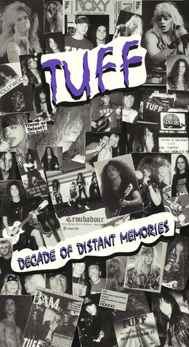 Tuff 'Decade Of Distant Memories' VHS